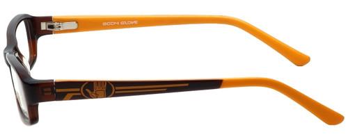 Body Glove Designer Eyeglasses BB128 in Brown KIDS SIZE :: Rx Single Vision