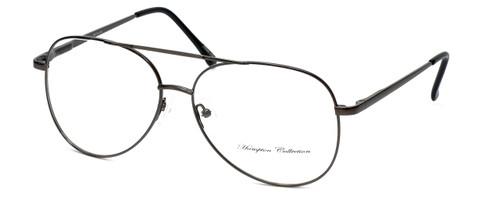 Hampton Collection Designer Reading Glasses HN2206 in Gunmetal 60mm