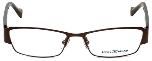 Lucky Brand Designer Eyeglasses Antigua-Brown in Brown 53mm :: Custom Left & Right Lens