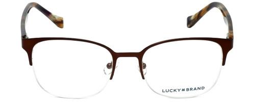Lucky Brand Designer Eyeglasses D105-Brown in Brown 53mm :: Custom Left & Right Lens