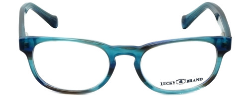 Lucky Brand Designer Eyeglasses Dynamo-Aqua in Aqua 45mm :: Custom Left & Right Lens
