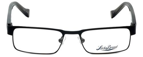 Lucky Brand Designer Eyeglasses Behave-Black in Black 46mm :: Rx Single Vision