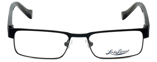 Lucky Brand Designer Eyeglasses Behave-Black in Black 46mm :: Progressive