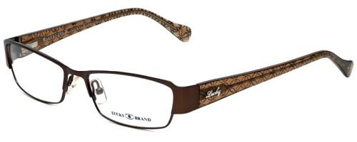 Lucky Brand Designer Eyeglasses Antigua-Brown in Brown 53mm :: Rx Bi-Focal