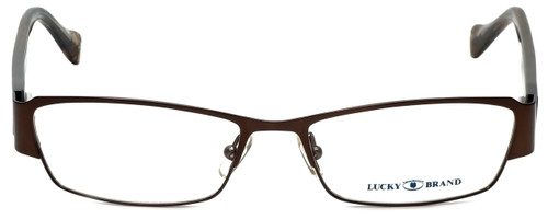 Lucky Brand Designer Eyeglasses Antigua-Brown in Brown 53mm :: Rx Bi-Focal
