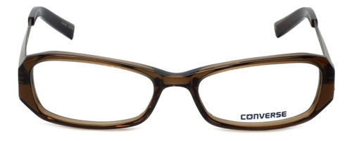 Converse Designer Eyeglasses Composition in Brown 53mm :: Rx Single Vision