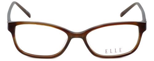 Elle Designer Eyeglasses EL13377-BR in Brown 52mm :: Custom Left & Right Lens