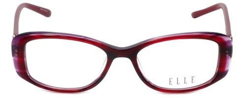 Elle Designer Eyeglasses EL13385-RE in Red 51mm :: Custom Left & Right Lens