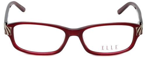 Elle Designer Eyeglasses EL13383-RE in Red 52mm :: Rx Bi-Focal