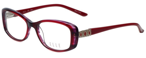Elle Designer Eyeglasses EL13385-RE in Red 51mm :: Rx Bi-Focal
