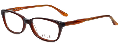 Elle Designer Reading Glasses EL13339-BR in Brown 53mm
