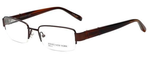 Jones New York Designer Eyeglasses J331 in Dark Chocolate Brown 52mm :: Custom Left & Right Lens