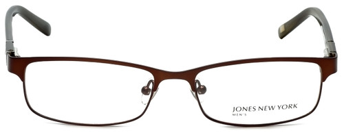 Jones New York Designer Eyeglasses J326 in Dark Brown 53mm :: Progressive