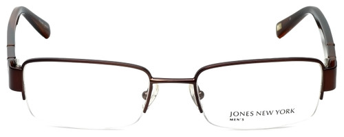 Jones New York Designer Eyeglasses J331 in Dark Chocolate Brown 52mm :: Progressive