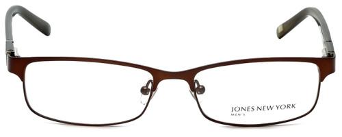 Jones New York Designer Eyeglasses J326 in Dark Brown 53mm :: Rx Bi-Focal