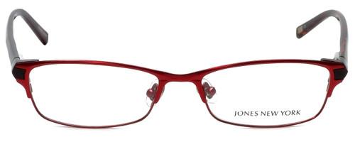 Jones New York Designer Eyeglasses J463 in Red 53mm :: Custom Left & Right Lens