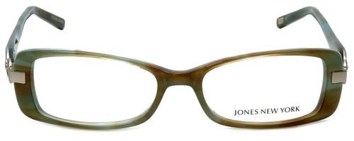 Jones New York Designer Eyeglasses J738 in Aqua Brown 52mm :: Rx Bi-Focal