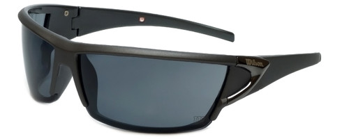Wilson Designer Sunglasses 1002 in Matte Grey with Grey Lens