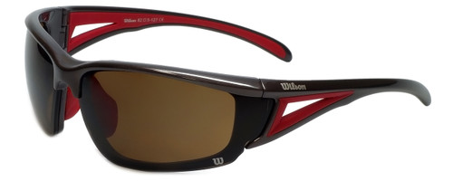 Wilson Designer Sunglasses Draw Masters Collection 1011 in Brown with Amber Lens
