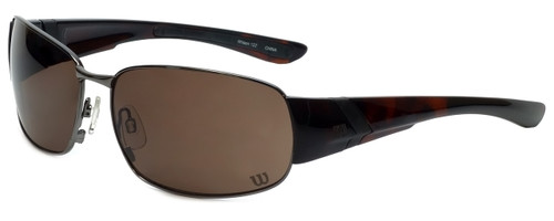 Wilson Designer Sunglasses 1025 in Gunmetal with Amber Lens