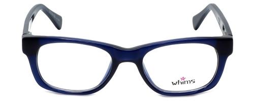 Whims Designer Eyeglasses TRO9141AK in Navy 50mm :: Custom Left & Right Lens