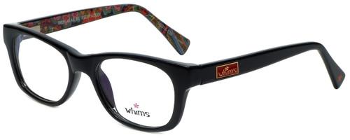 Whims Designer Eyeglasses TRO9141AK in Black 50mm :: Rx Single Vision
