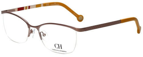 Carolina Herrera Designer Reading Glasses VHE060-0R15 in Copper 54mm