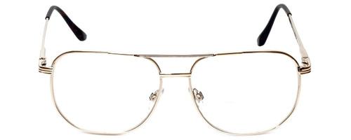 Calabria 1106CB Metal Aviator Bi-Focal Reading Glasses