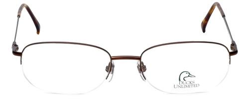 Ducks Unlimited Designer Eyeglasses DU-120 in Bronze 55mm :: Custom Left & Right Lens
