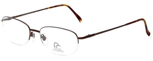 Ducks Unlimited Designer Eyeglasses DU-120 in Bronze 55mm :: Rx Single Vision