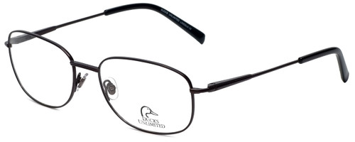 Ducks Unlimited Designer Eyeglasses Lincoln in Charcoal 57mm :: Rx Single Vision