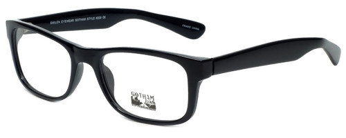 Gotham Style Designer Eyeglasses G229 in Black 60mm :: Custom Left & Right Lens