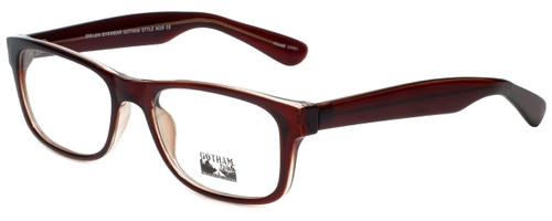 Gotham Style Designer Eyeglasses G229 in Brown 60mm :: Custom Left & Right Lens