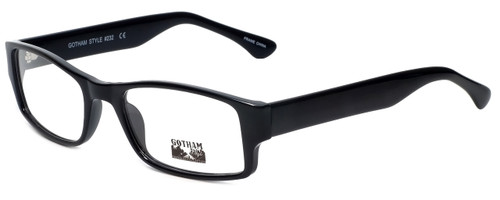Gotham Style Designer Eyeglasses G232 in Black 60mm :: Custom Left & Right Lens