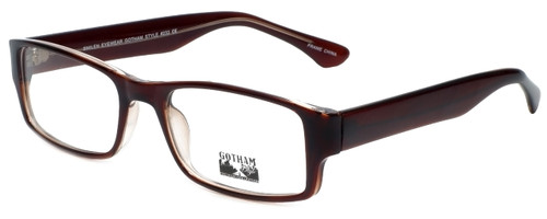Gotham Style Designer Eyeglasses G232 in Brown 60mm :: Custom Left & Right Lens