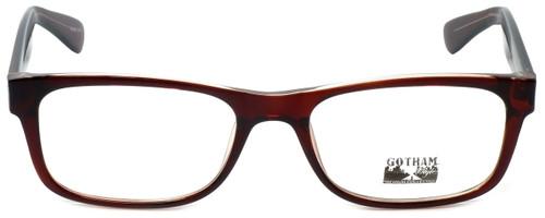 Gotham Style Designer Eyeglasses G229 in Brown 60mm :: Rx Single Vision