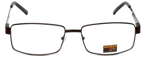 Gotham Style Designer Eyeglasses GS13 in Brown 58mm :: Rx Single Vision