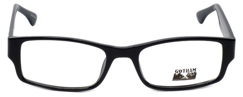 Gotham Style Designer Eyeglasses G232 in Black 60mm :: Progressive
