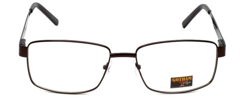 Gotham Style Designer Eyeglasses GS14 in Brown 59mm :: Progressive