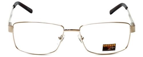 Gotham Style Designer Eyeglasses GS14 in Gold 59mm :: Rx Bi-Focal