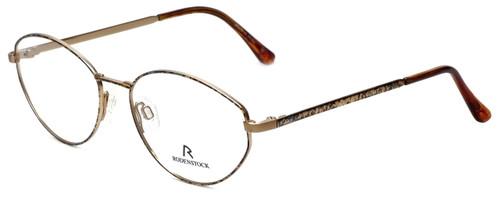 Rodenstock Designer Eyeglasses R2949 in Gold Blue Marble 52mm :: Custom Left & Right Lens