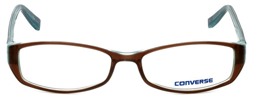 Converse Designer Eyeglasses Black-Top in Brown 52mm :: Rx Single Vision