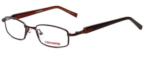 Converse Designer Eyeglasses Ambush in Brown 45mm :: Rx Single Vision