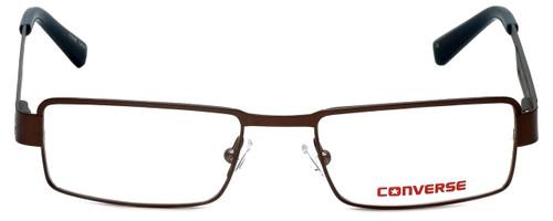 Converse Designer Eyeglasses K001 in Brown 47mm :: Rx Single Vision
