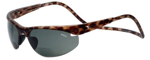 142847a54d Clic Sunglass II Tortoise Polarized Bi-Focal Reading Sunglasses. Quick view