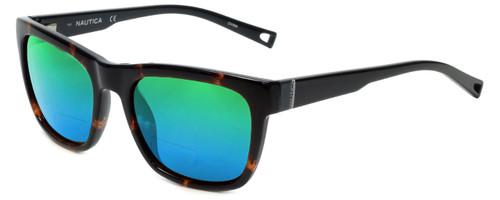 Nautica Designer Polarized  Bi-Focal Reading Sunglasses N6212S-310 in Tortoise