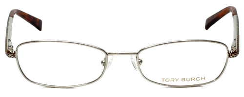 Tory Burch Designer Eyeglasses TY1009-102 in Silver 51mm :: Rx Single Vision