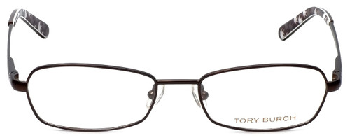 Tory Burch Designer Eyeglasses TY1014-104 in Brown 50mm :: Rx Single Vision