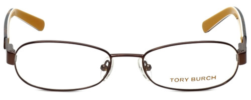 Tory Burch Designer Eyeglasses TY1017-104 in Brown 52mm :: Rx Single Vision