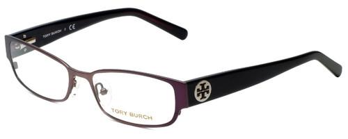 Tory Burch Designer Eyeglasses TY1001-293 in Plum 52mm :: Progressive